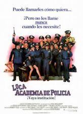 LOCA ACADEMIA DE POLICIA. dvd.