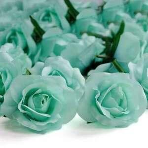 20pcs Artificial Rose Flower Heads Bulk Gradient Color Wedding e 65mm FBHS5
