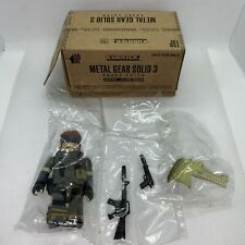 METAL GEAR SOLID 3 SNAKE EATER 2004 E3  EXCLUSIVE OLIVE DRAB KUBRICK NAKED SNAKE