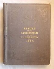 1855 COAST SURVEY DURING 1854 James MacNeill Whistler ANACAPA California MAPS