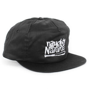 Vintage Naughty by Nature Snapback Hat Cap hip-hop rap raiders nwa NEW