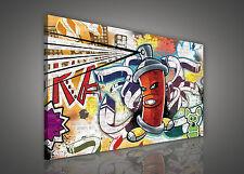 LEINWANDBILD BILD WANDBILD BILDER WANDBILDER CANVAS PHOTO Graffiti 3FX624O1