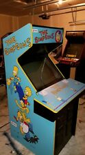 The Simpsons arcade artwork package
