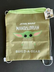 Build A Bear Accessory - Star Wars The Mandalorian Bear Carrier Tote Bag (New)