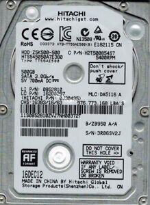 Hitachi HTS545050A7E380 P/N: 0J30435 MLC: DA5116 500GB
