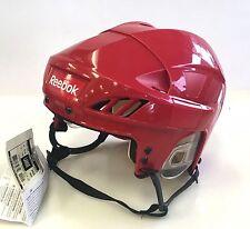 New Reebok 4K Nhl/Ahl Pro Stock/Return size medium red ice hockey helmet Detroit