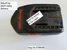 Rebuild / Rebuilt Battery service for Snap-On CTB4185 18 V 2200 mAh NiCd