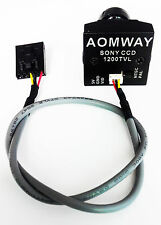 AOMWAY 1200TVL 960P HD Mini Cámara CCD Sony 2.8mm Lente Cámara drone