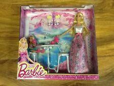 Barbie-Barbie FABULEUX Barbie Tea Set, NEUF avec Boîte, non ouvert