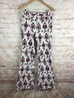Anthropologie Pilcro Corduroy High Rise Bootcut Retro Boho Cords Print Pants 27
