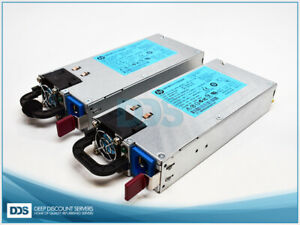 Kit of 2 660184-001 HP 460W Power Supply
