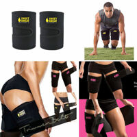 Sweat Sauna Thigh Trimmer Belt Shapewear Fat Burner Cellulite Wraps Leg Slimming