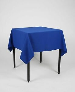 Square TABLE CLOTH / TABLECLOTH / TABLE COVER 100% Polyester Washable