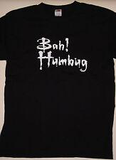 Bah! Humbug tshirt (xmas, christmas)