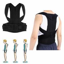 Posture Corrector Corset Back Brace Support Shoulder Straightener Adjustable UK