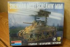 MONOGRAM/REVELL  SHERMAN M4A1 SCREAMIN' MIMI TANK 1/32 SCALE MODEL KIT