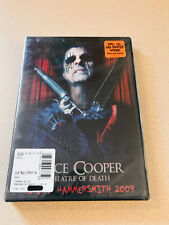 Alice Cooper - Theatre Of Death Live At Hammersmith 2009 DVD/CD Sealed New OOP