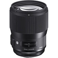 Sigma 135mm F1.8 DG HSM 'A' Art Lente Per Nikon AF Fit (UK stock) nuovo con scatola