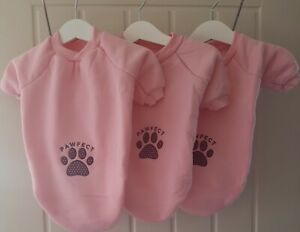 Pink Sweatshirt/Jumper Extra Small PAWFECT