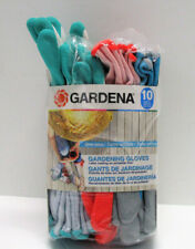 Gardena Latex Coated Gardening Gloves 9 pairs - One Size Fits Most