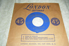 GRETA KELLER 45 Goodbye Lieber Johnny / Apollo Umberto 1956 London 1626 VG++