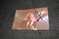 Helloween Kai Hansen signed autographe sur 9x13 cm photo inperson Look