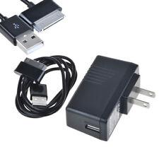 USB Home Wall Charger Adapter ETA-P10JBEGSTA + Ccble for Samsung Galaxy TAB 10.1