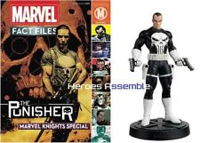 Marvel Fact Files Punisher SPECIAL MAGAZINE & Figurine Eaglemoss MARVEL KNIGHTS