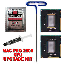 12-Core 3.33GHz 2009 Mac Pro Upgrade - Delidded Pair Intel X5680, IHS Removed
