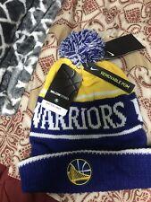Nike Golden State Warriors NBA Basketball Authentic Beanie $30 876608-495