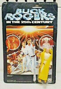 Vintage 1979 Mego Buck Rogers 25th Century DRACO Action Figure NEW NOS MOC