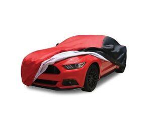 Fleeced Satin Black Covercraft Custom Fit Car Cover for Select Triumph TR6 Models FSA63F5