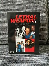 DVD Lethal Weapon 1 - 4, Box