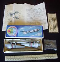 c1960 Vintage Kader Hong Kong Douglas DC-7 BOAC Prop-Liner Airliner Scale 1/150