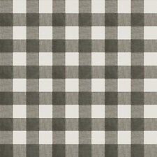 Chesapeake Claire Black, White and Grey Gingham Wallpaper 3112-002728