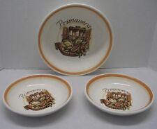 Vintage Himark San Remo Primavera Pasta Serving Bowl & 2 Individual Bowls Italy
