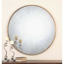 Uttermost Junius Round Gold Mirror