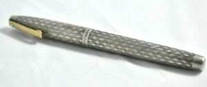 Sheaffer Imperial Sterling Silver Oblique Fountain Pen 925