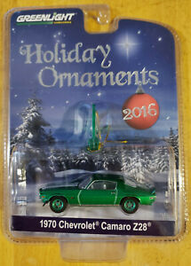 Greenlight Collectibles Holiday 1970 Chevrolet Camaro Z28 Green Machine Chase