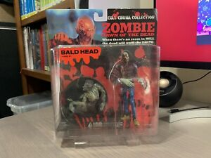Cult Cinema Collection Dawn of the Dead Bald Head Zombie Action Figure New