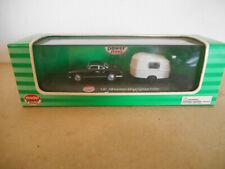 1/87 model power vw karman Ghia w / camper trailer volkswagen