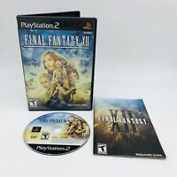 Final Fantasy XII (Sony PlayStation 2, 2006) PS2 Black Label Complete Tested