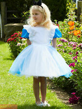 Girls Travis Designs Alice In Wonderland Costume World Book Day Fancy Dress Kids