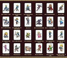 Botw 24pcs NFC Tag Cards for the Legend of Zelda Breath of the Wild Switch Wii U