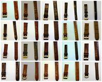 Uhrenarmband Leder Elysee Zentra 12mm 14mm 16mm 18mm 19mm 20mm 21mm 22mm 24mm