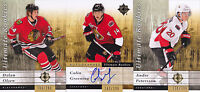 11-12 UD Ultimate Colin Greening /399 Auto Rookie Senators 2011