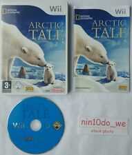 ARCTIC TALE (Wii) & U -NORTH POLE ARTIC POLAR BEAR XMAS WINTER GAME=NEAR MINT✔