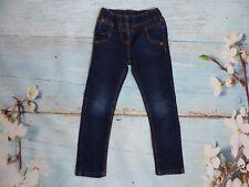 Pair of Next Girls Dark Blue Jean Leggings / Trousers - 5 Years