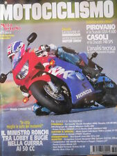 MOTOCICLISMO n°12 1998 Suzuki GSX-R 600 Ducati 748 Yamaha YZF-R6 600  [P32]