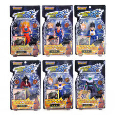 DRAGON BALL - SET 6 FIGURAS ARTICULADAS CON ACCESORIOS 12cm / 6 FIGURES SET